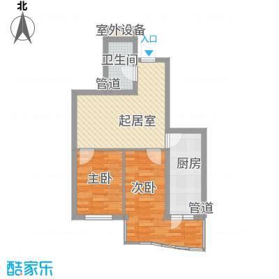 东泰金谷东泰金谷户型图户型使用面积54.12㎡2室1厅1卫1厨户型2室1厅1卫1厨