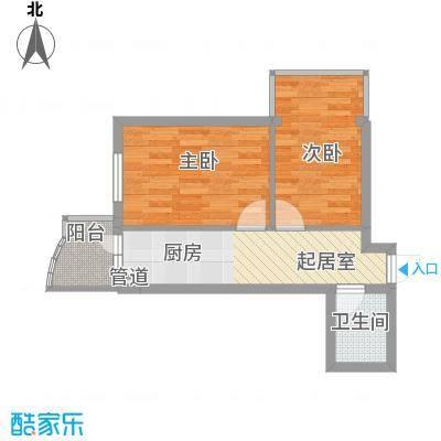东泰金谷东泰金谷户型图户型使用面积42.88㎡2室1厅1卫1厨户型2室1厅1卫1厨