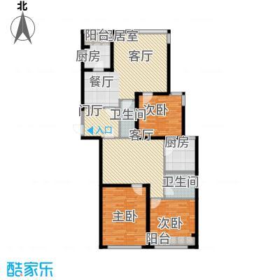 瑞宝国际花苑156.00㎡瑞宝国际花苑3室户型3室