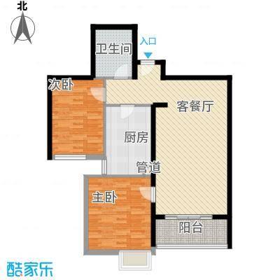 凯旋新城104.00㎡凯旋新城户型图A11时尚两居(售完)2室2厅1卫户型2室2厅1卫
