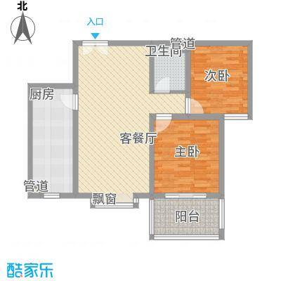 福润康城户型图A5副本