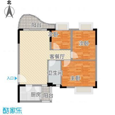 深圳 翡翠园山湖居一期 户型图