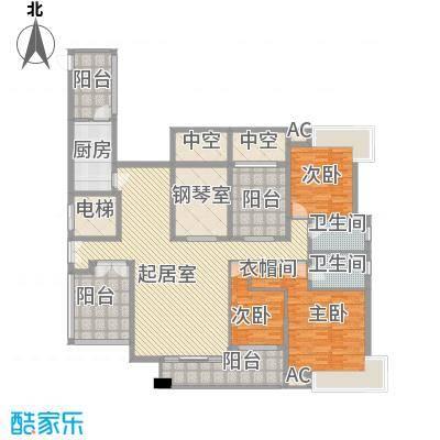 金域中央天越 4室2厅