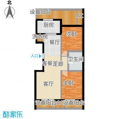 绿城沈阳全运村绿城沈阳全运村户型图ga1户型2室2厅1卫户型2室2厅1卫