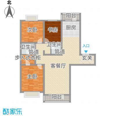 地王白金国际公寓165.40㎡地王白金国际公寓户型图3室2厅2卫户型10室