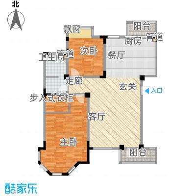 长河湾101.50㎡长河湾户型图A032室2厅1卫户型2室2厅1卫