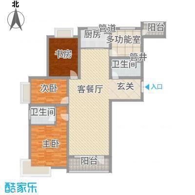 地王白金国际公寓177.69㎡地王白金国际公寓户型图4室2厅2卫户型10室