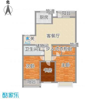 地王白金国际公寓154.98㎡地王白金国际公寓户型图3室2厅2卫户型10室