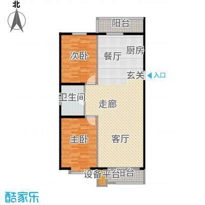 新汉城锦都94.00㎡新汉城锦都2室户型2室