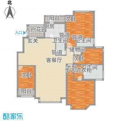 曼哈顿国际庄园234.74㎡曼哈顿国际庄园户型图4室2厅3卫户型10室