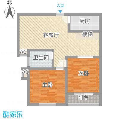 鑫达小区90.00㎡鑫达小区2室户型2室
