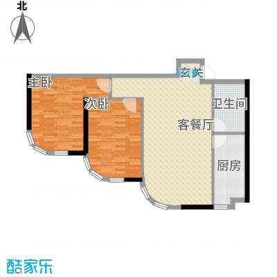 阳光馨苑开建阳光馨苑2室户型2室