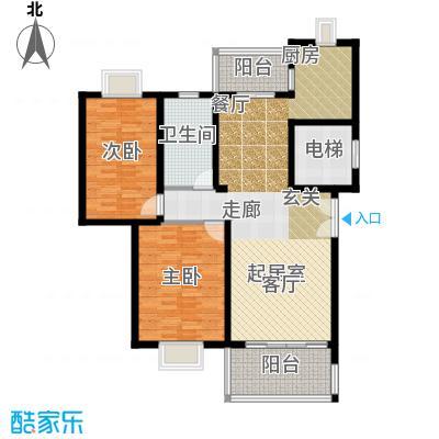 三泉家园110.00㎡上海三泉家园户型10室