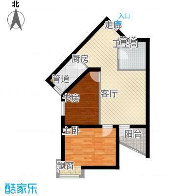 新希望家园85.30㎡新希望家园户型图2#楼A户型3室1厅1卫1厨户型3室1厅1卫1厨