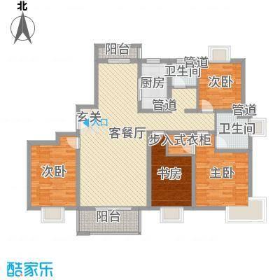 粮贸大厦150.00㎡粮贸大厦4室户型4室