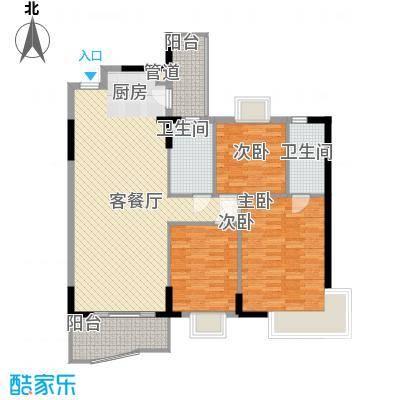 丰盛名苑69.00㎡丰盛名苑3室户型3室