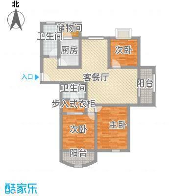 精文城上城126.00㎡上海精文城上城户型10室