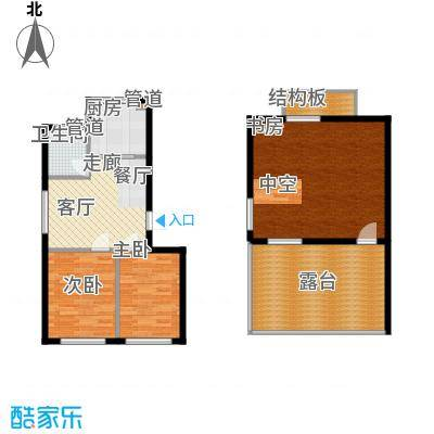 绿色家园95.31㎡绿色家园户型图户型图3室2厅1卫户型3室2厅1卫