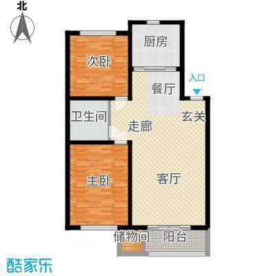绿色家园102.00㎡绿色家园3室户型3室