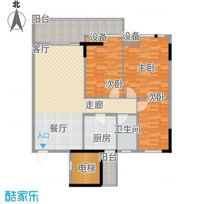 博美雅居129.00㎡博美雅居3室户型3室