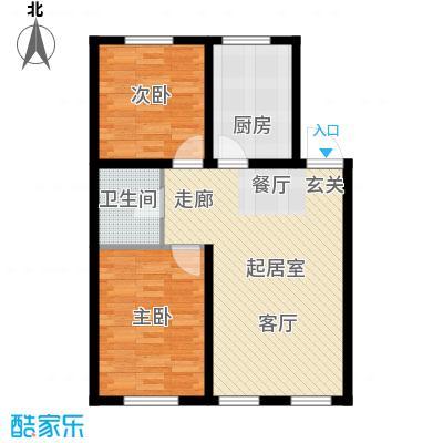 清河湾88.98㎡清河湾户型图2室2厅1卫88.98㎡2室2厅1卫1厨户型2室2厅1卫1厨