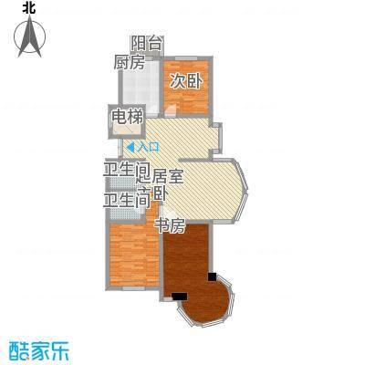 明城花园146.70㎡明城花园户型图3室2厅2卫户型10室