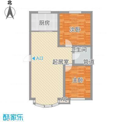东北明珠64.00㎡东北明珠户型图E户型2室2厅1卫1厨户型2室2厅1卫1厨
