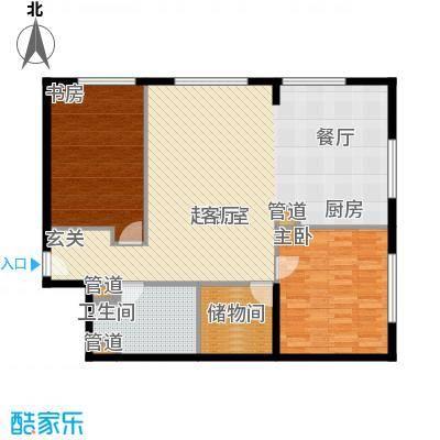 山景明珠花园104.03㎡山景明珠花园户型图B2户型2室2厅1卫1厨户型2室2厅1卫1厨