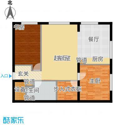 山景明珠花园山景明珠花园户型图9、10、11号楼B2室2厅1卫1厨户型2室2厅1卫1厨