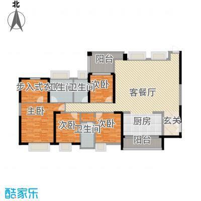 新世纪豪园第一居503.00㎡新世纪豪园第一居5室户型5室