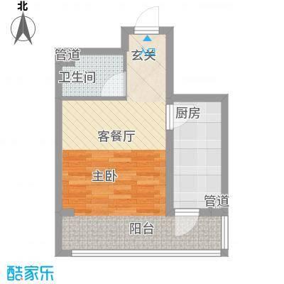 锦秀物业锦秀物业户型图11室1厅1卫1厨户型1室1厅1卫1厨