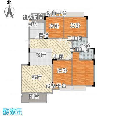 河畔新苑202.00㎡河畔新苑4室户型4室
