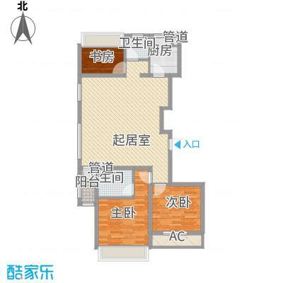 城建南郡城建南郡户型图D3户型图3室2厅2卫户型3室2厅2卫