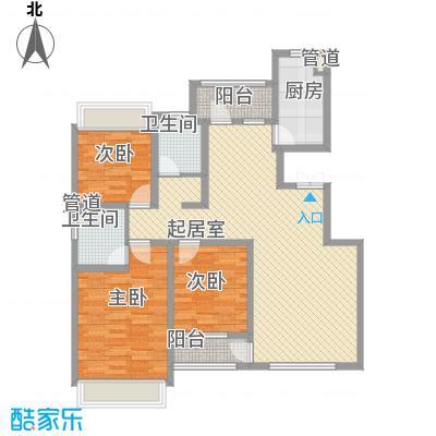 城建南郡城建南郡户型图E2户型图3室2厅2卫户型3室2厅2卫