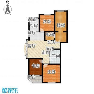 假日兰庭118.20㎡假日兰庭户型图3室2厅1卫户型10室