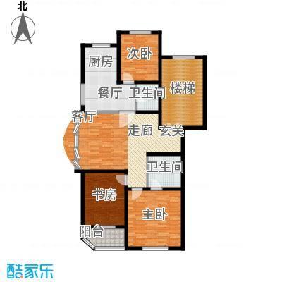 假日兰庭116.00㎡假日兰庭户型图3室2厅2卫户型10室