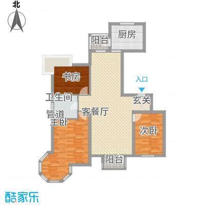 城中艺景120.00㎡城中艺景户型图境非凡3室2厅1卫户型3室2厅1卫