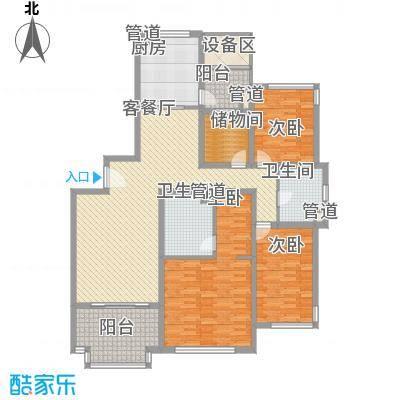 水巷邻里花园178.00㎡水巷邻里花园户型图A2-4户型178平米3室2厅2卫1厨户型3室2厅2卫1厨
