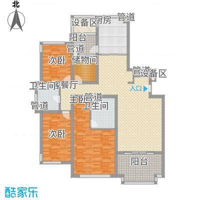 水巷邻里花园178.00㎡水巷邻里花园户型图A2-3户型178平米3室2厅2卫1厨户型3室2厅2卫1厨