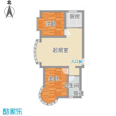 东北明珠84.00㎡东北明珠户型图C户型2室2厅1卫1厨户型2室2厅1卫1厨