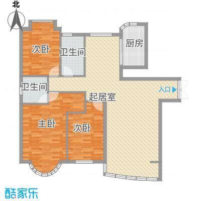 东北明珠144.00㎡东北明珠户型图A户型3室2厅2卫1厨户型3室2厅2卫1厨