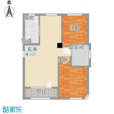一品佳地(瓦房店)户型图2室户型图 2室2厅1卫1厨