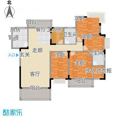 永兴楼 4室 户型图