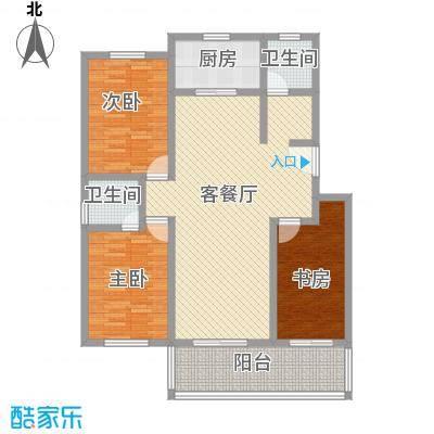 桃源雅居  3室 户型图