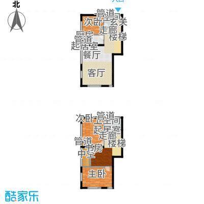 阳光100国际新城88.00㎡阳光100国际新城户型图E12D户型(含赠送层)(售完)3室3厅2卫1厨户型3室3厅2卫1厨