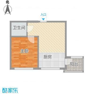 龙畔金泉三期44.45㎡龙畔金泉三期户型图1室1厅1卫1厨户型10室