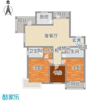 地王白金国际公寓157.38㎡地王白金国际公寓户型图3室2厅2卫户型10室