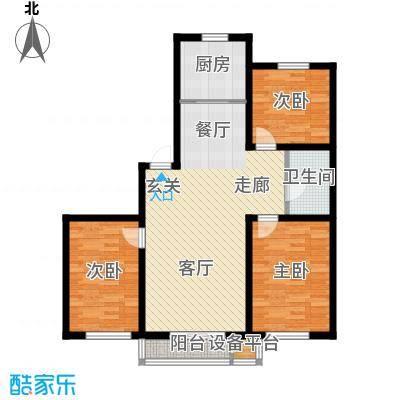 青阳四季园青阳四季园户型图3室2厅1卫户型10室