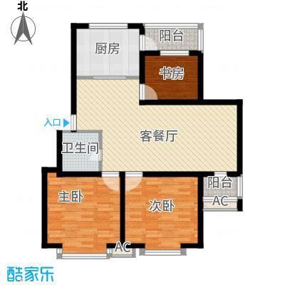 青阳四季园108.70㎡青阳四季园户型图3室2厅1卫户型10室