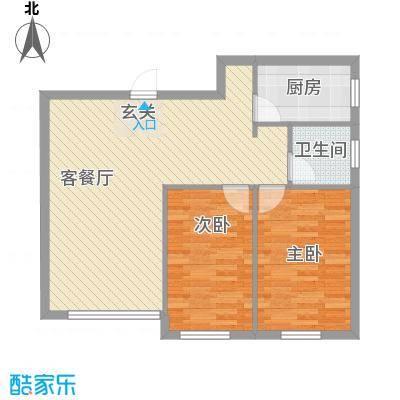 泓福苑泓福苑户型2室2厅户型2室2厅